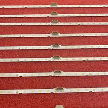 10 Stks/partij Led Backlight Strip Voor Samsung UE49NU7172 UE49NU7670 UE49NU7140 UE49NU7100 NU7100_STS49081_38LEDS_3030F AOT_49_NU7300