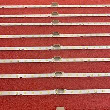10pcs/lot LED Backlight Strip for Samsung UE49NU7172 UE49NU7670 UE49NU7140 UE49NU7100 NU7100_STS49081_38LEDS_3030F AOT_49_NU7300