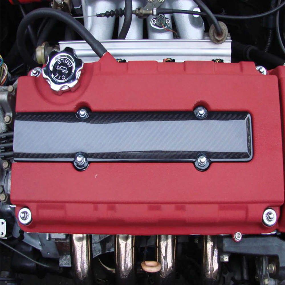 Valve Cover Spark Plug Cover For Honda Acura VTEC B18 B16 B series Black Plastic
