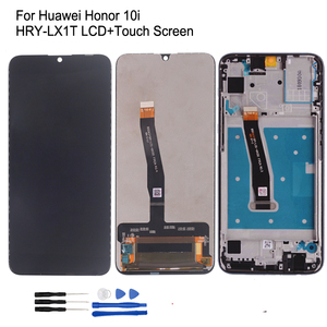 Image 1 - Original For Huawei Honor 10i HRY LX1T LCD Display Touch screen Digitizer Repair Parts For Honor 10 i Screen LCD Dsiplay