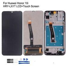 Orijinal Huawei onur için 10i HRY LX1T LCD ekran dokunmatik ekran Digitizer onarım parçaları onur 10 i ekran LCD ekran