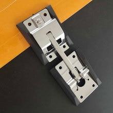 Фиксация двери грузовика крюк из нержавеющей стали RV позиционирование с кронштейном прочная Т-образная пряжка легко установить трейлер полированный