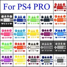 Set Completo di Parti di Ricambio Bottoni per Playstation 4 Dualshock 4 per Sony PS4 Pro Controller Sottile Jdm Jds 040 R2 L2 r1 L1