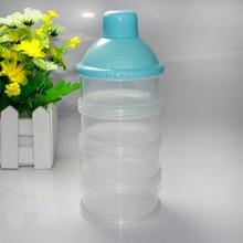Apple bear портативный Четырехслойный прозрачный ящик для молока, съемный контейнер для молока,, коробка для молока