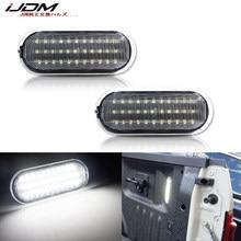IJDM – ensemble de lampe de lit pour camion, Super Duty Direct Fit 6000, blanc led k, pour Ford 2015 up F150, 2017-up Raptor ou F250 F350 LED