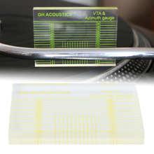 Fonograf Tonearms VTA azimut göstergesi hizalama blok cetvel Headshell hizalama aksesuarı
