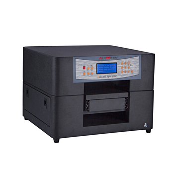 High speed golf ball printer with uv led high resolution