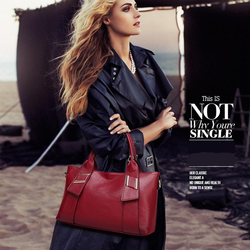 Image 5 - Yellow Handbag Women Bag PU Leather Blue Hand Bag Black Famous  Brand women messenger bag Luxury Designer bolsa feminina  W805handbag  polohandbag jewelleryhandbags bling