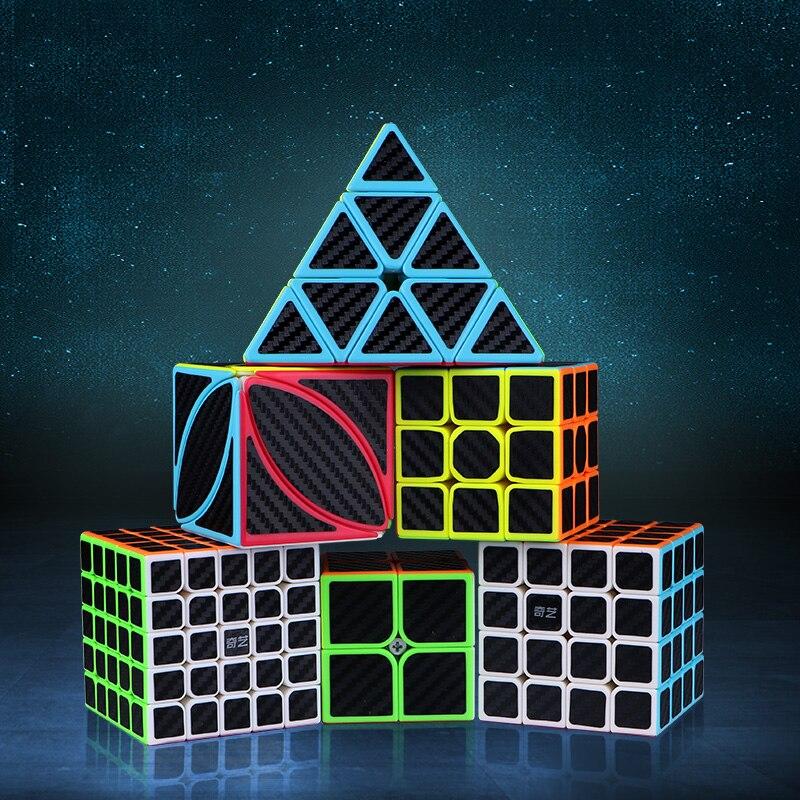 3x3x3 4x4x4 5x5x5 전문 스피드 큐브 퍼즐 Cubo Magico 학습 완구 Stickerless Magical Cube 성인용 안티 스트레스 완구