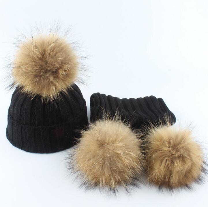 children winter coat cotton hat girls real set