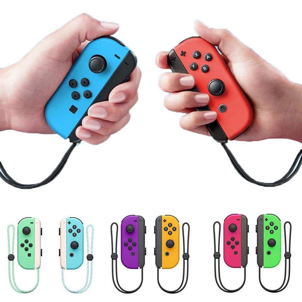Manette de jeu gauche et droite sans fil Joy-Con pour manette de jeu Nintend Switch (L + R)