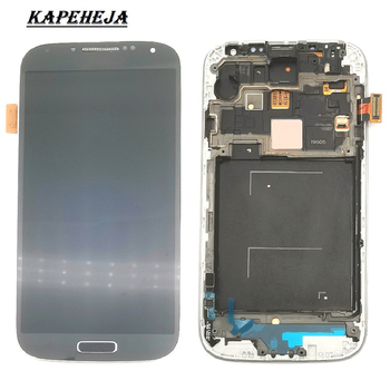 5.0Super AMOLED LCD Display For Samsung Galaxy S4 GT-i9500 i9505 i9515 i9506 i337 LCD Display Touch Screen Digitizer Assembly s4 lcd for samsung galaxy s4 display screen i9505 i9500 i9505 i9506 i9515 i337 lcd touch display digitizer with frame i9500 lcd