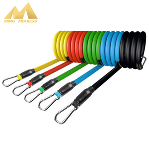Resistance Bands Crossfit Stretch Yoga Exercises Fitness Elastic Training Band Rubber Expander Tubes Home Gym Pilates Equipment