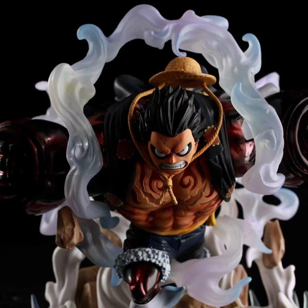 Аниме Одна деталь GK Змея человек четвертый Luffy большой, ПВХ фигуркы игрушки