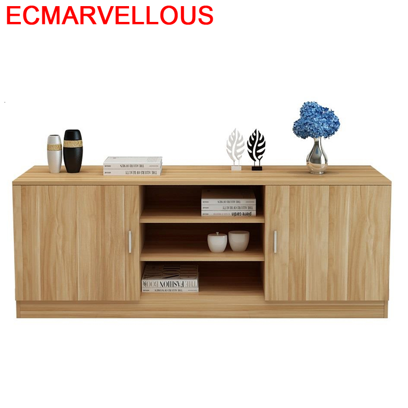 Ecran Plat China Lcd Meuble Moderne Mesa Modern Para Shabby Chic Wooden Monitor Table Mueble Living Room Furniture Tv Stand