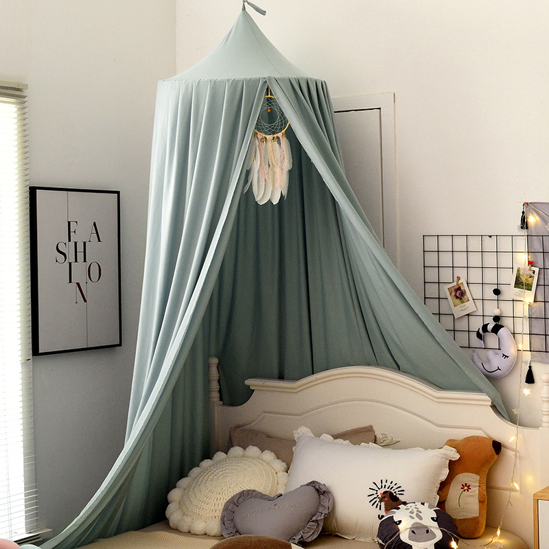 Baby Mosquito Net for Crib Girls Princess Mosquito Net Hung Dome Bedding Baby Bed Canopy Tent Curtain Room Decor