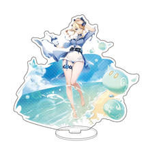 Hot Game Genshin Impact Acrylic Figure Stand Paimon Keqing Zhongli Eula Venti Rosalia Anime Character Model Sign Great Gifts