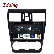 """Idoing 9 """"Auto Android Radio Vedio GPS Multimedia Player Kopf Einheit Für Subaru WRX 2013 2015 4G + 64G Navigation DSP Carplay Keine 2 Din"""