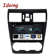 "Idoing 9""Car Android Radio Vedio GPS Multimedia Player Head Unit For Subaru WRX 2013 2015 4G+64G Navigation DSP Carplay No 2 Din"