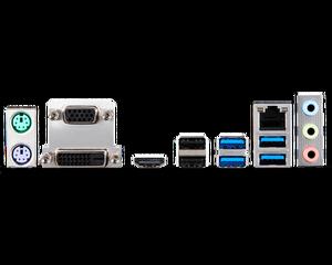 Image 5 - MSI материнская плата A320M PRO M2 V2 системная плата AMD Socket am4 ddr4 memory rams M.2 SATAIII ssd HDMI + VGA + DVI PCI E 3,0X16 материнская плата для рабочего стола 2011