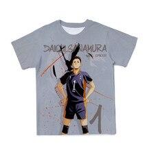 2021 été bébé garçon volley adolescent impression 3D T-shirt drôle mignon dessin animé T-shirt bébé/fille/garçon/décontracté respirant T-shirts