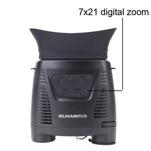 Image 4 - WILDGAMEPLUS NV200C Infrared Night Vision Binoculars Telescope 7X21 Zoom Digital IR Hunting Night Vision Goggles Optical Hunter