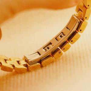 Image 5 - 2020 New Fashion Ladies Wrist Watches Luxury Brand Diamond Women Bracelet Silver Watch Women Dress Quartz Clock Relogio Feminino