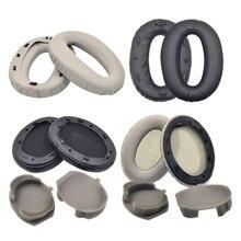 OOTDTY Suitable For Sony Mdr-1000x 1000xm2 1000xm3 Earphone Sponge Sleeve Earmuffs Ear Pads Ear Cotton