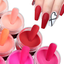 Nail-Powder Crystal Acrylic Professional Builder-Nail-Decorations Polymer Red Rose 15g