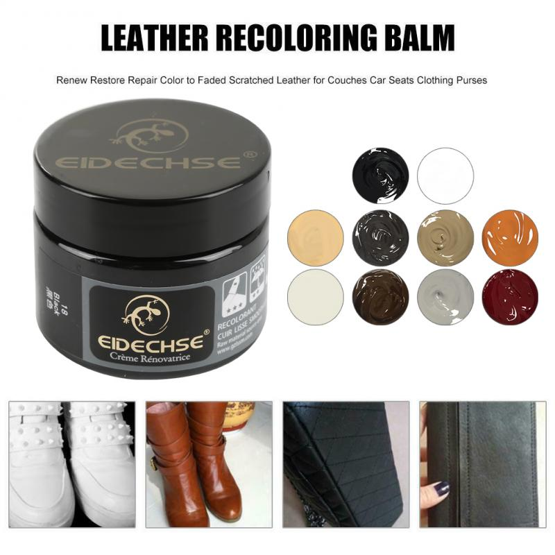 Leather Vinyl Repair Filler Compound Cream Restoration Cracks Sofa Hole Useful