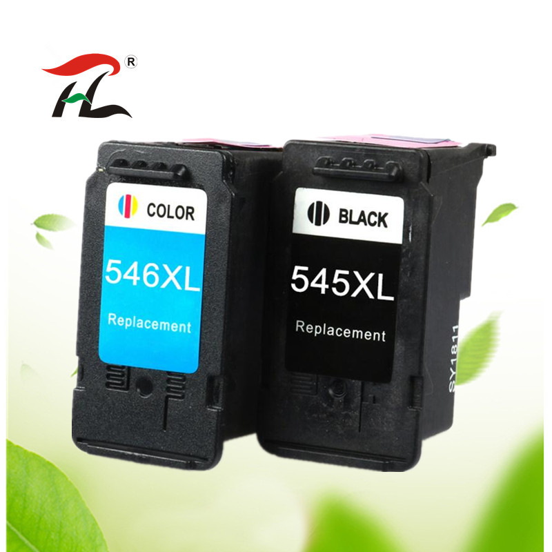 PG545 CL546 For Canon PG 545 CL 546 PG-545 545xl 546xl Ink Cartridge For Pixma IP2850 MX495 MG2950 MG2550 MG2450 Printer