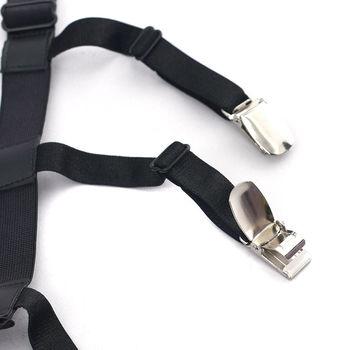 1Pair Male Shirt Garters Stays Business Suspenders Braces Men's Garter Belt Hot Sale 2019 New 10