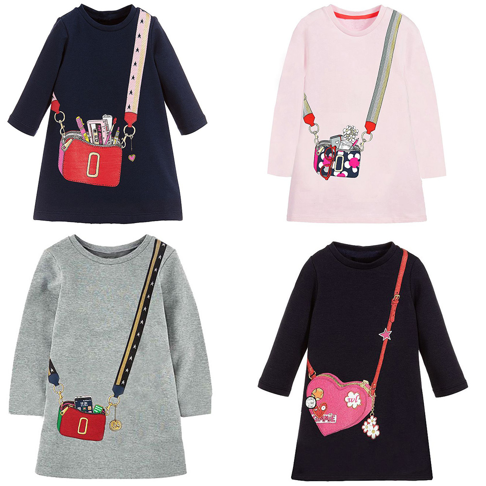 Baby Girls Autumn Dress Princess Costume 2019 Brand Kids Party Dresses for Girls Clothes Vestido Toddler Dress Children Clothing
