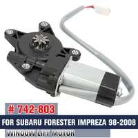 Nuevo Motor de ventana de coche  Motor de elevación de vidrio  Accesorios de Motor de ventana eléctrica para Subaru para Forester para Impreza 98 2008 742 803|Partes y motores de ventanas| |  -