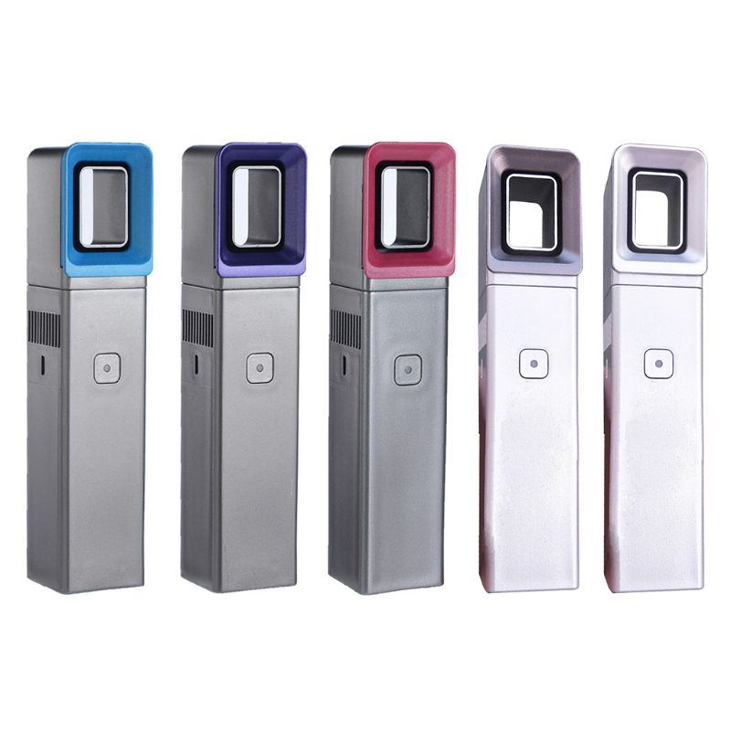 USB Charging Bladeless Fan Mini Handheld Cooler Fan With LED Light Indicator K1AD