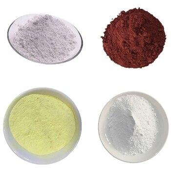 цена на High pure 99% nano silicon dioxide SiO2 powder / zirconium dioxide ZrO2 / ferric oxide Fe2O3 / bismuth trioxide Bi2O3 powder