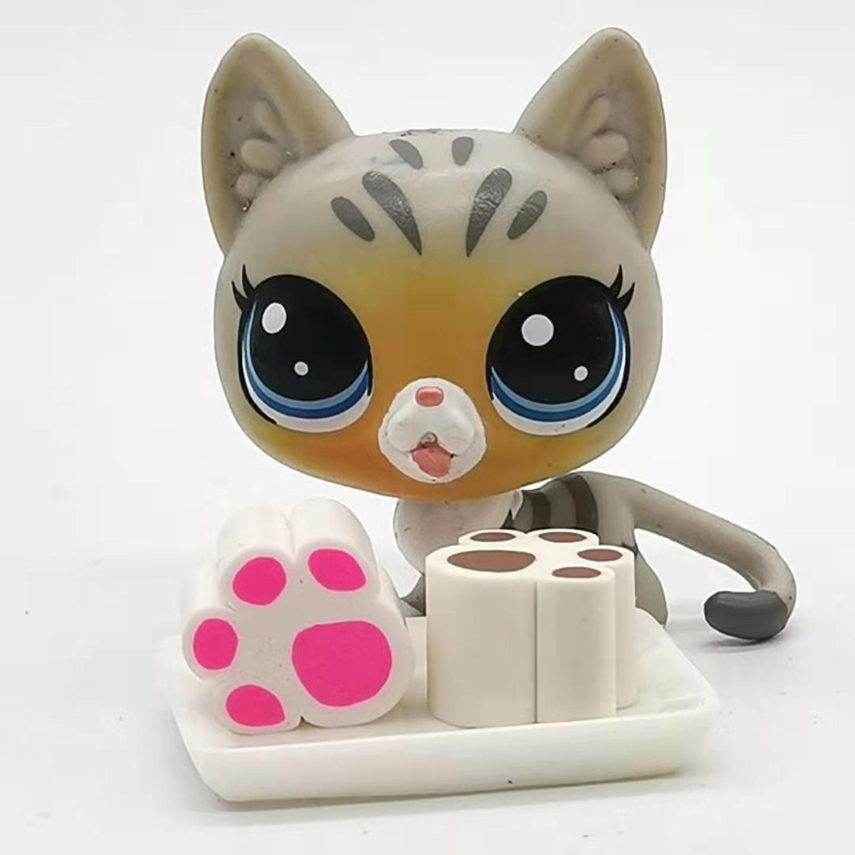 Аксессуары для игрушек язычок кошка Мягкая Керамика медведь Зефир Мини Милая коллекция Рождественский подарок Бесплатная доставка|Игровые фигурки и трансформеры|   | АлиЭкспресс