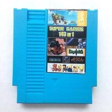 143 em 1 jogos coleção 72 pinos cartão de jogo para 8 bits jogo jogador transporte da gota