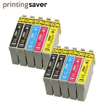 10 sztuk wymiana 29 29XL T2991XL T2991 do projektora Epson wkłady atramentowe XP235 XP247 XP245 XP332 XP335 XP342 XP345 XP435 XP432 XP442 tanie i dobre opinie printing saver Pełna Wkład atramentowy 29 29XL T2991 T2992 T2993 T2994 Kompatybilny Black Cyan Magenta Yellow With chip