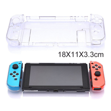 Clear Shockproof Full Protective CaseFor Nintendo Switch Game Console Protectors Compitable For Nintedo Switch Hard Cover