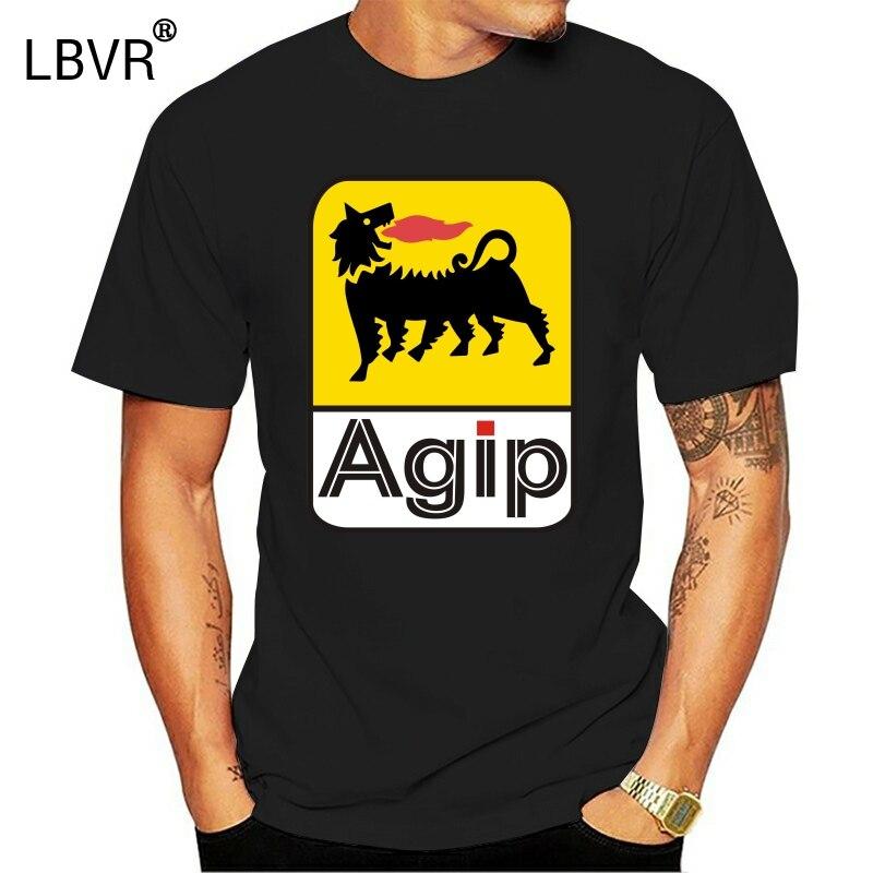 AGIP Italian Automotive Fuel Oil Men's T-Shirt 100% Cotton
