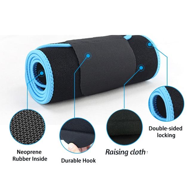 Waist Trimmer Belt Sweat Wrap Slim Body Lumbar Support Belt for Women and Men Weight Loss Abdominal Trainer Slimming Body Shaper 3