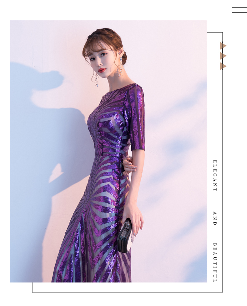 elegantes de sereia, lantejoula, marrocos, formal, para baile