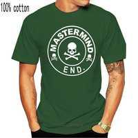 Camiseta Nwt Mastermind Japan X End para hombre, camiseta negra con calavera