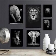 Минималистичная фотография черно белая животная настенная живопись