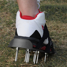 Shoes Sandals Grass-Spiked Lawn-Aerator Nail-Cultivator Revitalizing Yard Useful 30X13CM