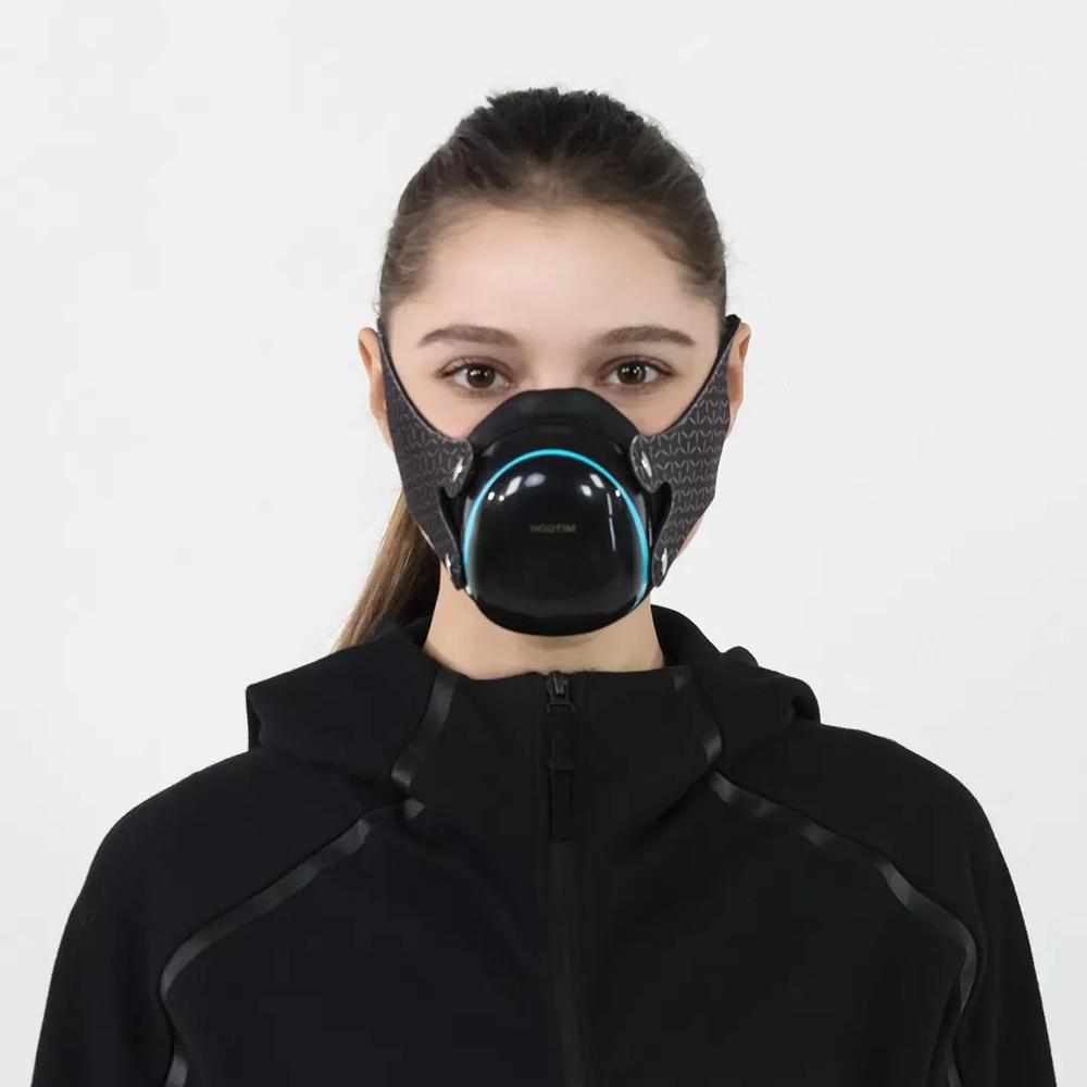Youpin Hootim Electric Anti-Haze PM2.5 Sterilizing Anion Mask Provides Active Air Supply Electric Face Mask