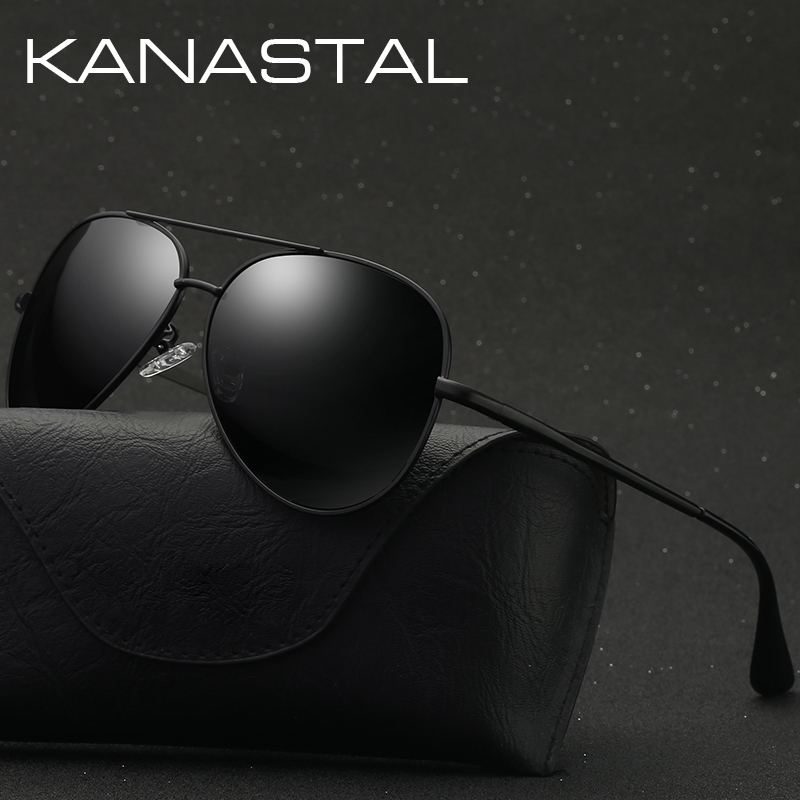 Aviation Sunglasses Men Women Vintage Polarized Sun Glasses Men Retro Eyewear Driving Shades Male UV400 Protection Glasses