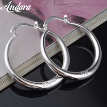 Wholesale Fashion Jewelry 925 Sterling Silver Earrings Smooth Round Earrings, Women'S Jewelry Gifts