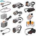 Детали для Legoeds Lego строительные блоки Серводвигатель батарейный блок 2,4G инфракрасный пульт дистанционного управления приемник PF модельные...